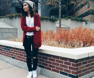 beanie, fashion, and gorgeous image