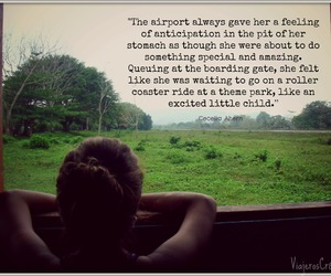 airport, europe, and quote image