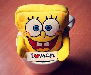 mom, spongebob, and sponge bob image