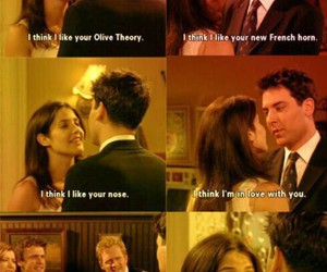 robin, himym, and how i met your mother image
