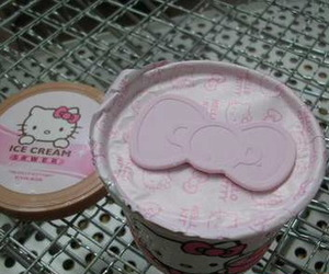 hello kitty and ice cream image