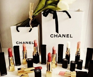 chanel, lipstick, and luxury image