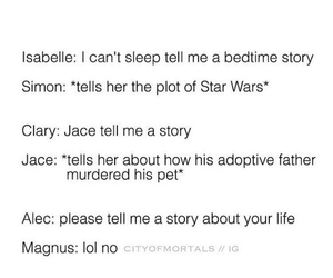 life story, clary fray, and soml image