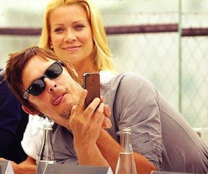 the walking dead, andrea, and norman reedus image