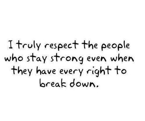 quote, respect, and strong image