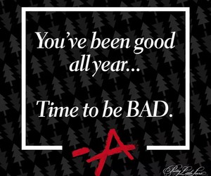 pretty little liars, bad, and pll image