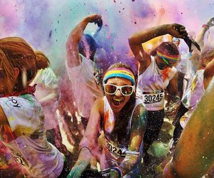 gopro, color fest, and party image
