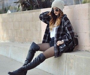 black, december, and outfits image
