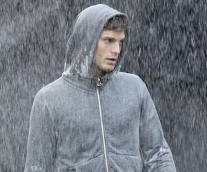 Jamie Dornan, movie, and rain image