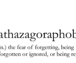 fear, ignored, and replaced image
