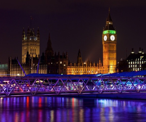 london, beautiful, and Big Ben image