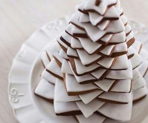 christmas, dessert, and food image
