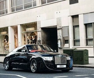 luxury, car, and rolls royce image