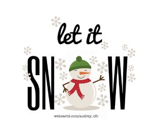 snowflake, christmas, and snowman image