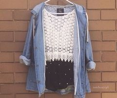 clothes, top, and crop image