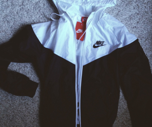 nike, jacket, and white image