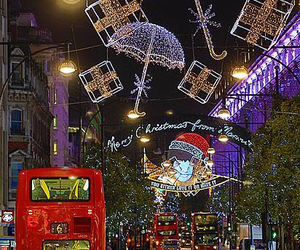christmas, london, and beautiful image