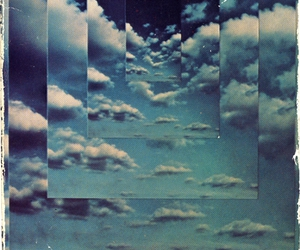 sky, clouds, and art image