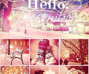christmas, snow, and ho image
