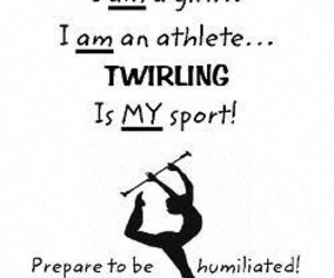 girl, sport, and twirling image