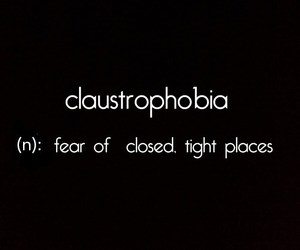 phobia and tight place image