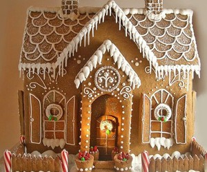 christmas, food, and gingerbread image