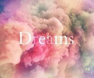 Dream, clouds, and pink image