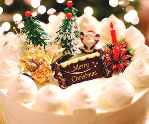 christmas, cake, and merry christmas image