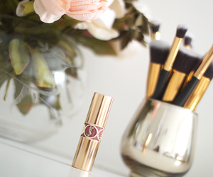 Brushes, chanel, and flowers image