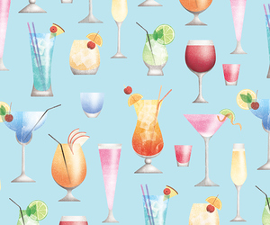 cocktail, Cocktails, and drinks image
