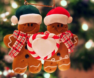 christmas, Cookies, and heart image