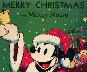 mickey mouse, christmas, and disney image