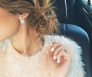 beautiful, earings, and fashion image