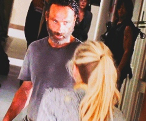 the walking dead, andrew lincoln, and season 5 image