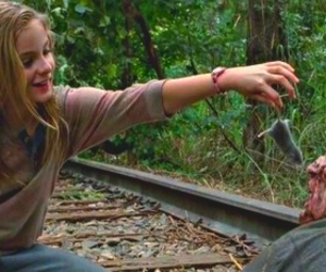 the walking dead, lizzie, and twd image