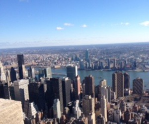 buildings, skyline, and empire state image