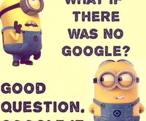minions, funny, and google image