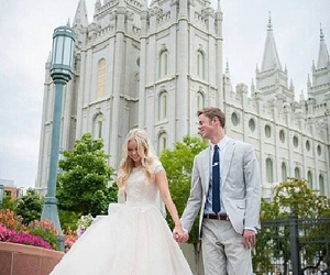 couple, Temple, and love image