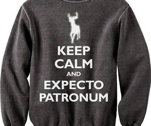 harry potter, expecto patronum, and keep calm image