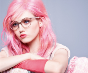 pink, chanel, and glasses image