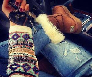 fashion, ugg, and guess image