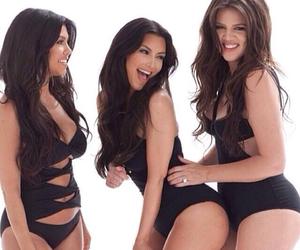 kim kardashian, kardashian, and khloe kardashian image