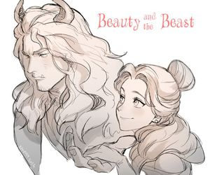 anime and beauty and the beast image