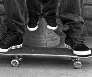 dad, father, and skater image