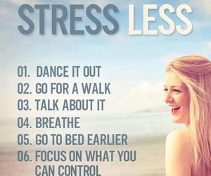 stress, life, and smile image