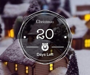 20, christmas, and countdown image