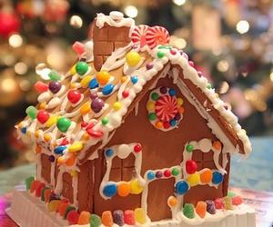 christmas, candy, and food image