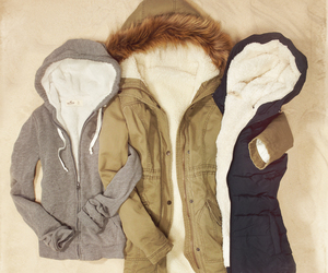 jacket, winter, and clothes image