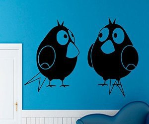 bird, wall decals, and home decor image