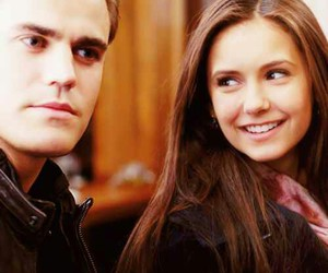 stelena, the vampire diaries, and Nina Dobrev image